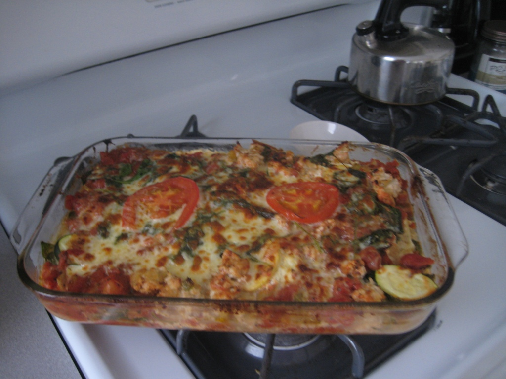 Quick and Healthy… Turkey-Vegetable Lasagna! | Dietitian Drive