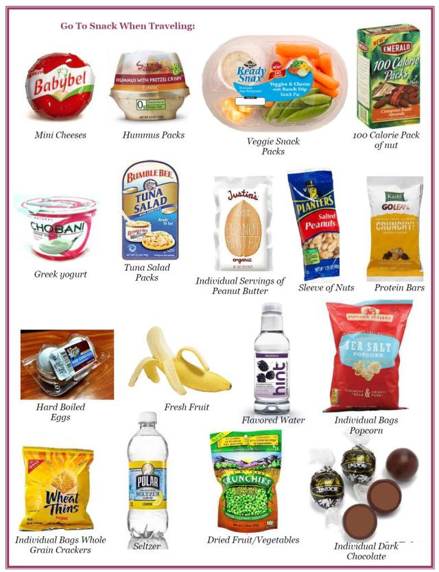 Good Snack Foods For Road Trips