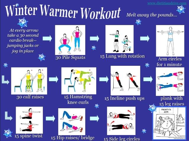 winter warmer workout