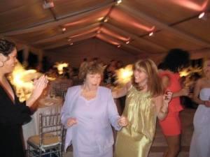 Nana & Kerri dancing, always the life of the party!