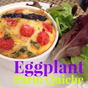 Eggplant Parm Quiche