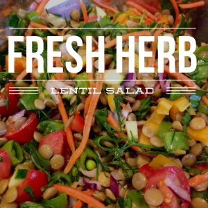 Fresh Herb & Lentil Salad