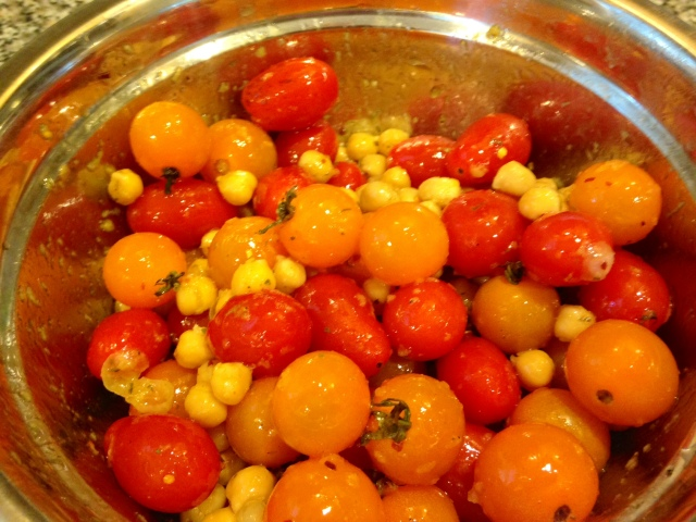 ... Breast Served Over Roasted Tomatoes & Chickpeas   Dietitian Drive