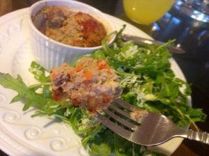 Veggie Packed Quinoa Meatloaf
